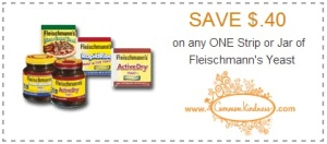 yeast coupons