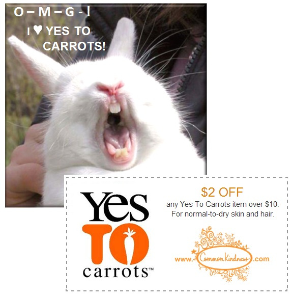 yes to carrots coupons