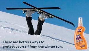 funny ski picture