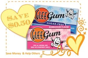 Glee Gum Coupon