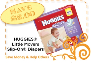 Huggies Slip Ons CommonKindness Coupon