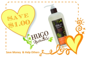 Hugo Naturals CommonKindness Coupon
