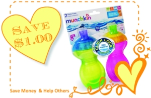 Munchkin Click Lock Cup CommonKindness Coupon