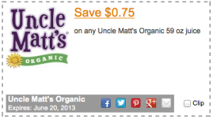 Uncle Matt's Coupon