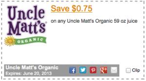 Uncle Matt's Coupon