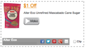 Alter Eco Coupon