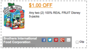 Brothers International Coupon