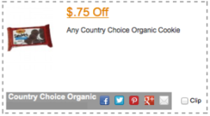 Country Choice Organic Coupon