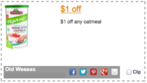 Old Wessex Oats Coupon