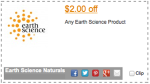 Earth Science Coupon