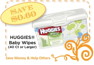 Huggies Baby Wipes CommonKindness Coupon