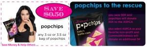 Popchips Katy Perry CommonKindness Coupon