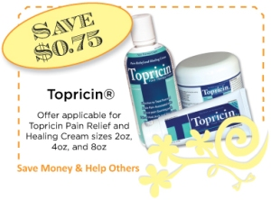 Topricin Summer CommonKindness Coupon