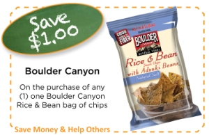 Boulder Canyon Rice and Beans Back To School Coupon