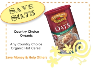 Country Choice Cereal CommonKindness Coupon