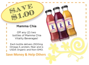 Mamma Chia Vitality Beverages CommonKindness Coupon