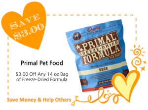 Primal Pet Foods LoveWarmth CommonKindness Coupon