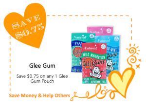 Glee Gum LoveWarmth CommonKindness coupon