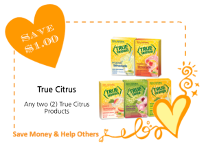 True Citrus LoveWarmth CommonKindness coupon
