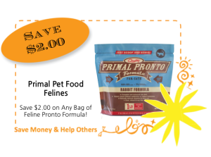 Primal Pet Foods Feline Springtacular CommonKindness coupon