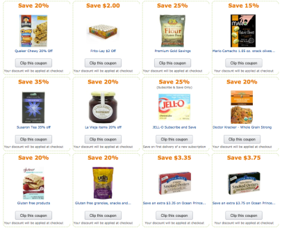 Grocery & Gourmet Coupons