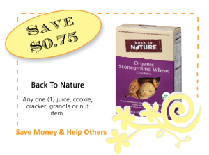 Back To Nature CommonKindness coupon