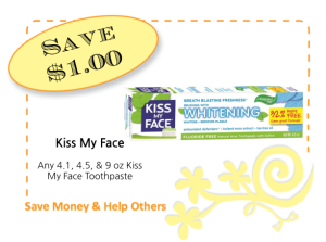 Kiss My Face CommonKindness coupon