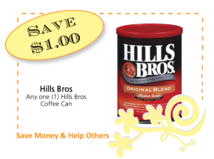Hills Bros Coffee CommonKindness coupon