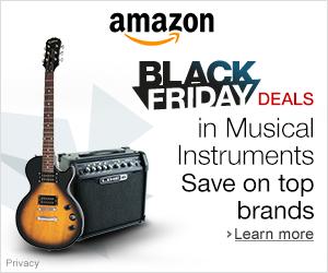 Amazon Black Friday Music Deals