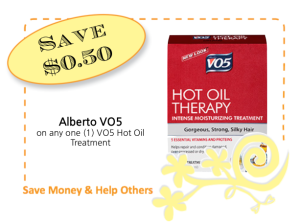 Albeto VO5 Hot Oil Treatment CommonKindness coupon