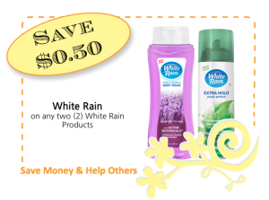 White Rain CommonKindness coupon copy