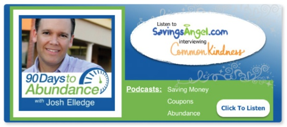 Savings Angel CommonKindness Banner March 2015