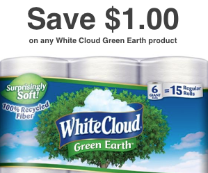White Cloud $1 Coupon