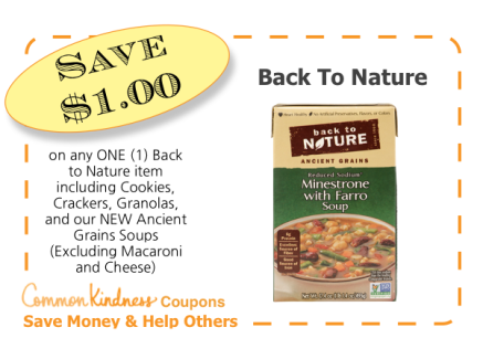 Back To Naure CommonKindness coupon