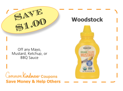 Woodstock CommonKindness coupon