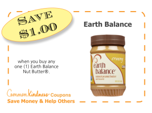 Earth Balance CommonKindness coupon
