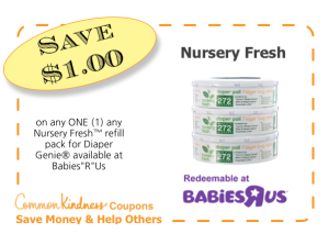 Nursery Fresh CommonKindness coupon
