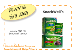 SnackWell's CommonKindness coupon