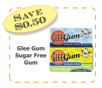 Glee Gum Non-GMO CommonKindness Sugar Free Gum coupon