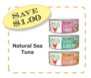 Natural Sea Non-GMO CommonKindness coupon