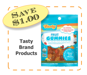 Tasty Brand Non-GMO CommonKindness coupon