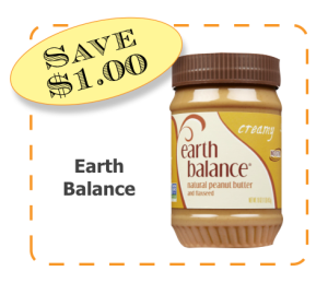 Earth Balance Non-GMO CommonKindness coupon