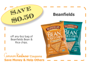 Beanfields Chips CommonKindness coupon
