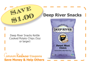 Deep River Snacks CommonKindness coupon