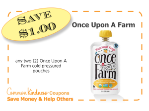 Once Upon A Farm CommonKindness coupon