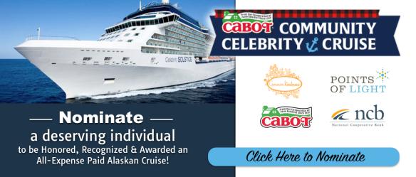 Cabot Community Celebrity Cruise Banner 2016